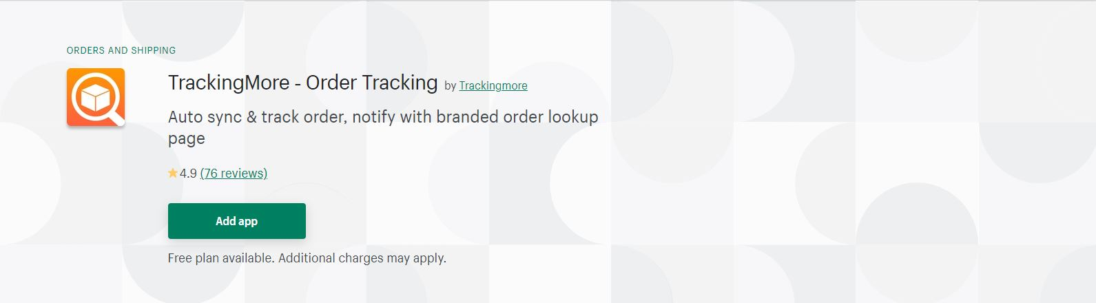 Shopify fulfillment app