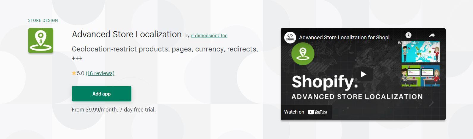 Shopify redirect app