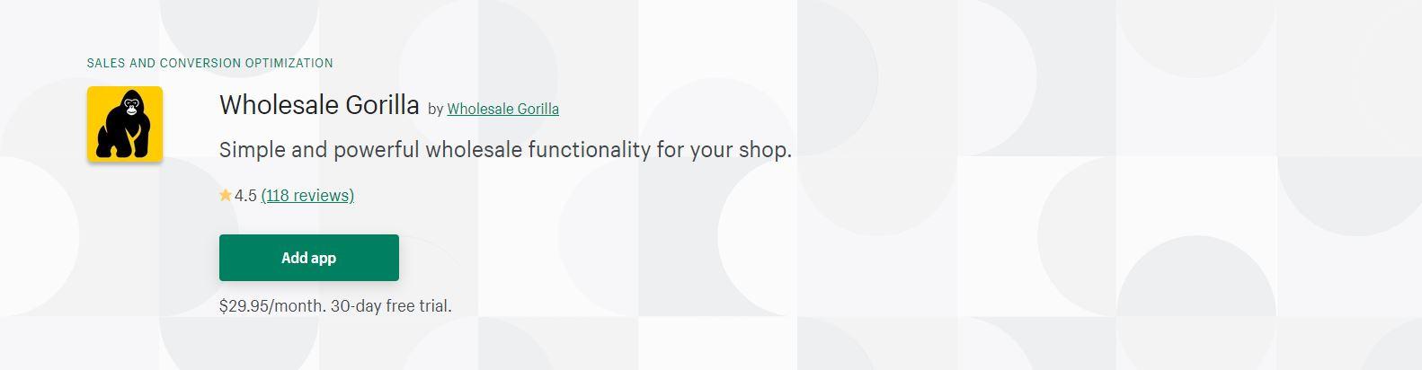 Best wholesale app for shopify