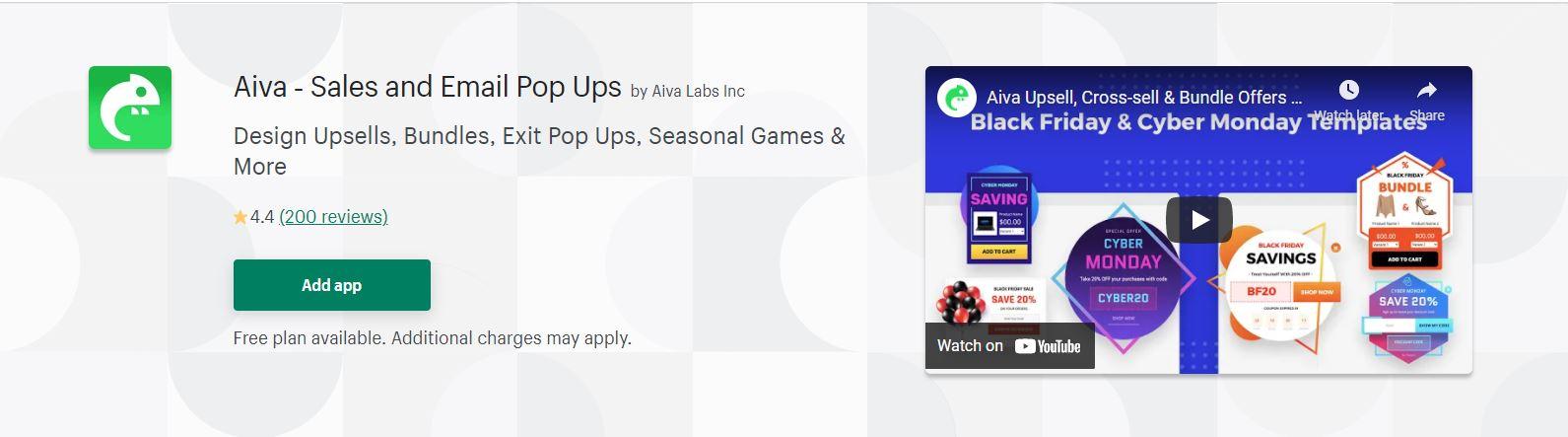 Best pop up app for shopify