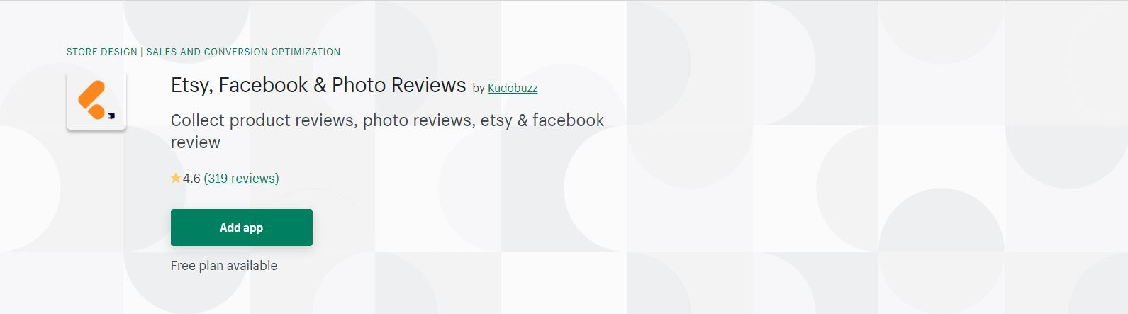 Etsy, Facebook & Photo Reviews