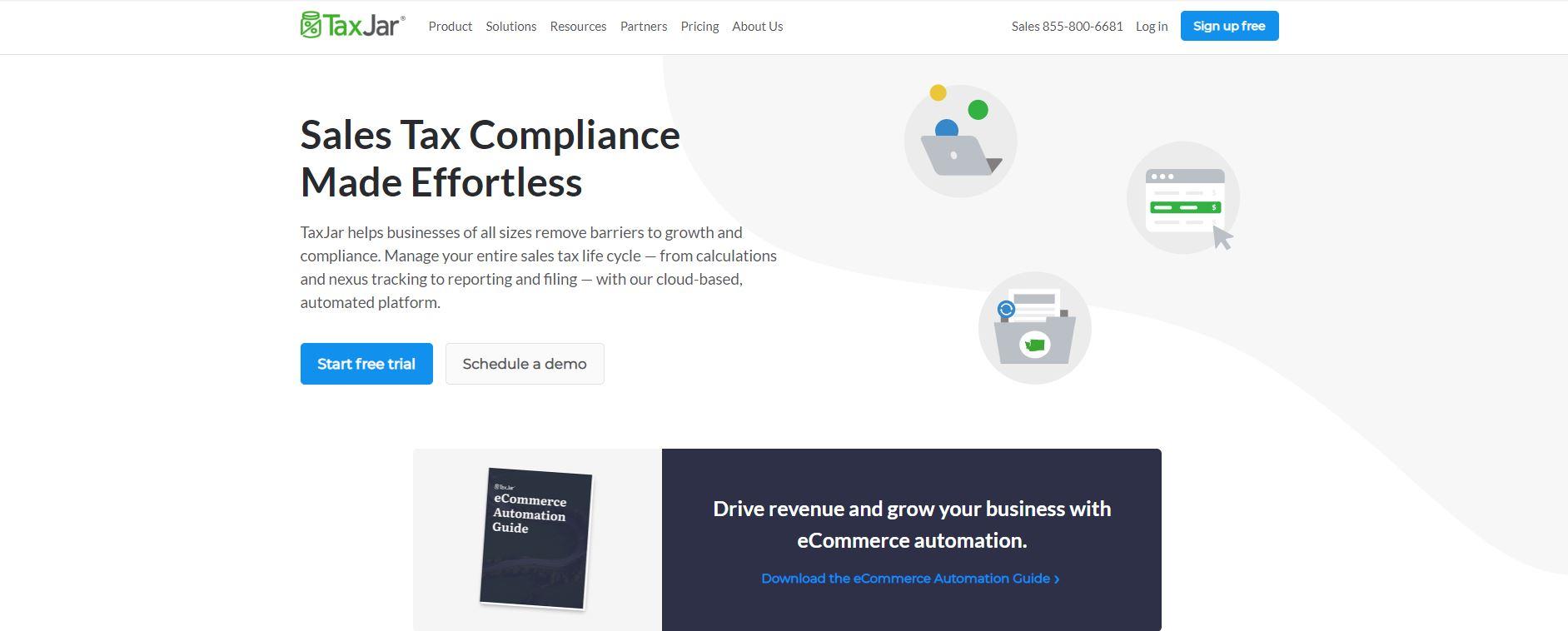 Shopify sales tax app