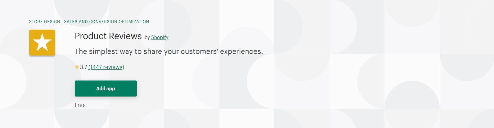 Shopify testimonials app