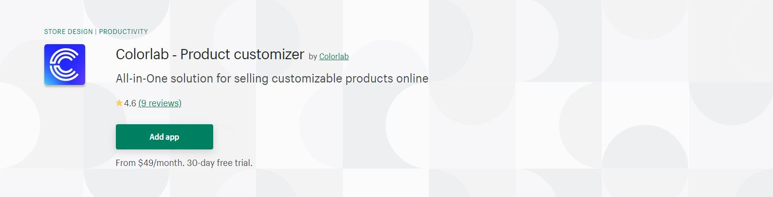 Shopify product customizer