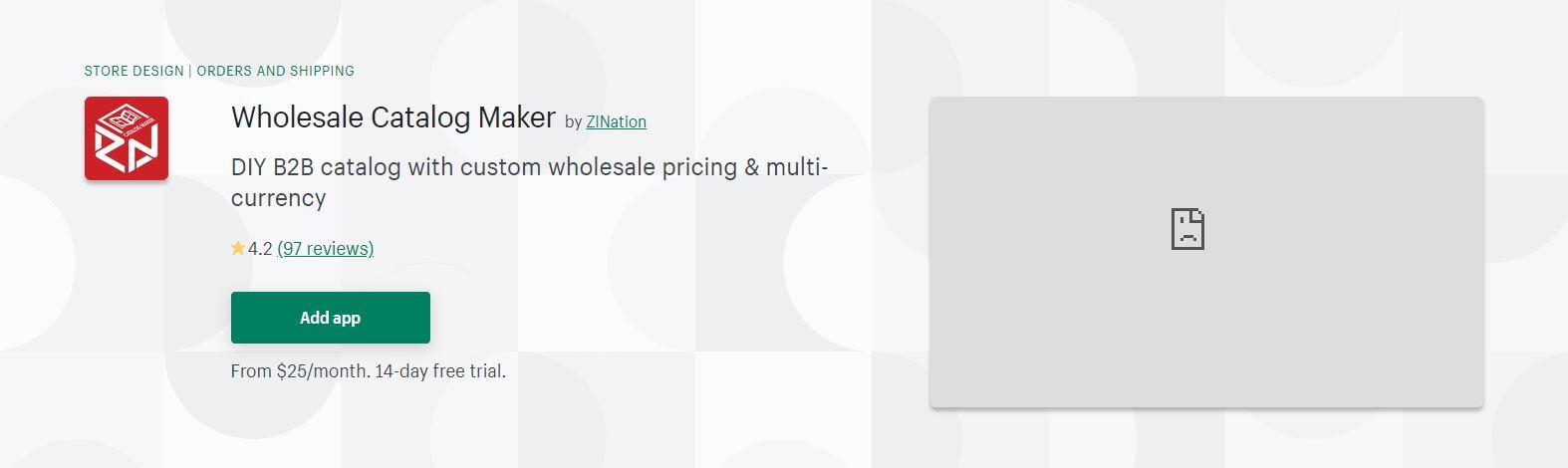 Wholesale Catalog Maker