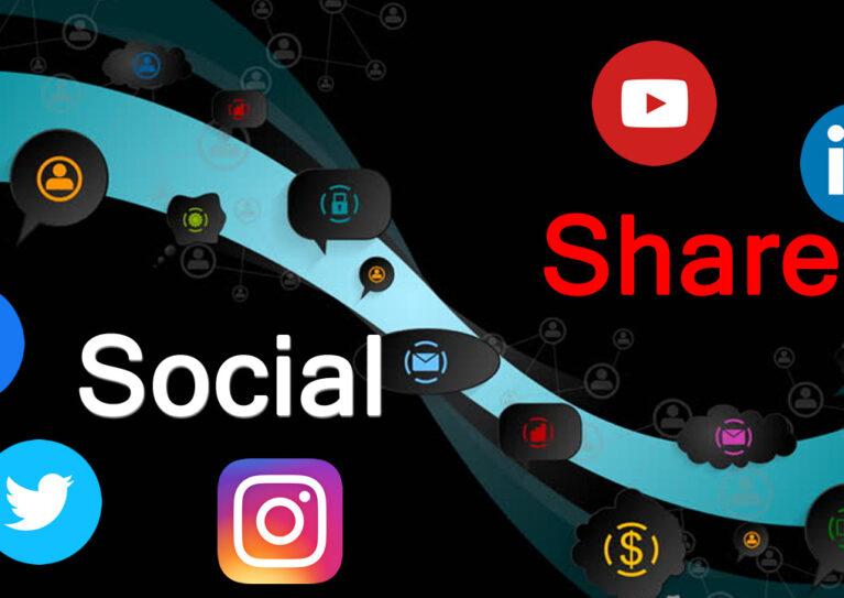 Social share app