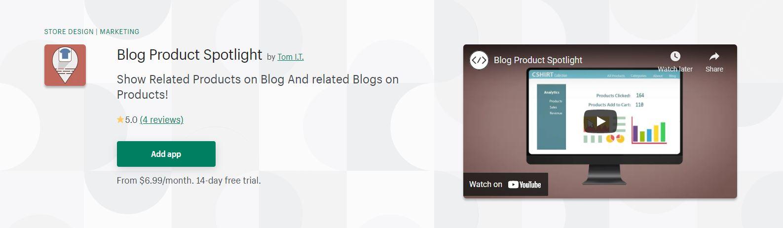 Blog Product Spotlight