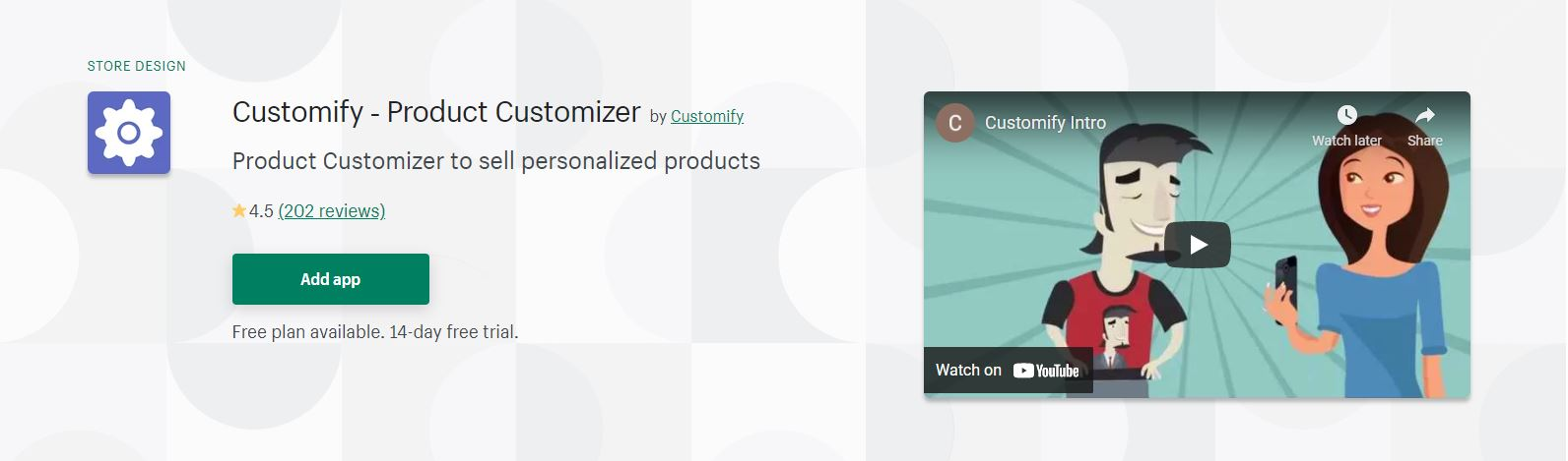 Customify ‑ Product Customizer