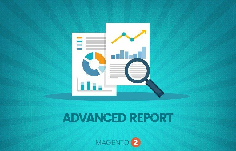 magento advanced report extension