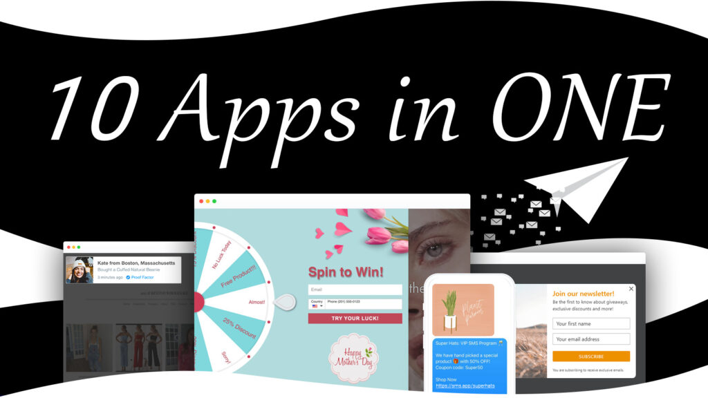 ONE+ SMS, Pop Ups & Discounts