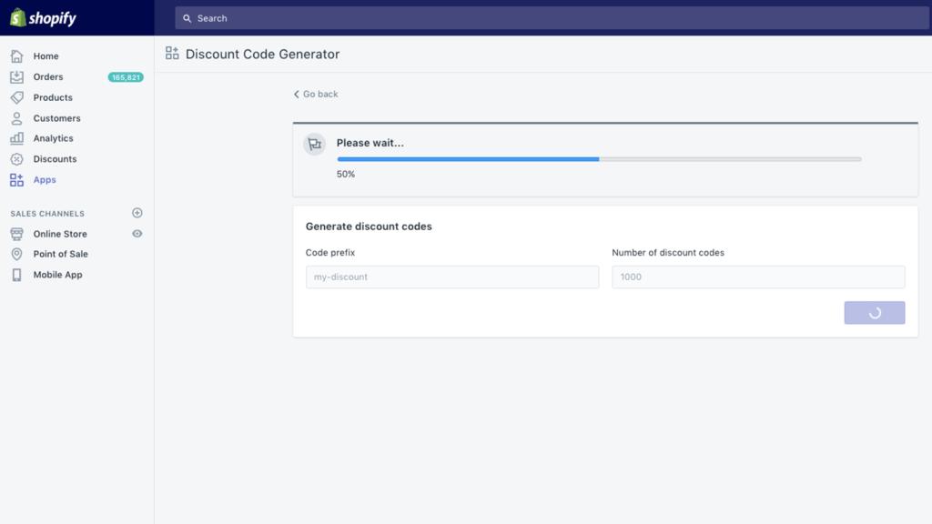 Simple Discount Code Generator