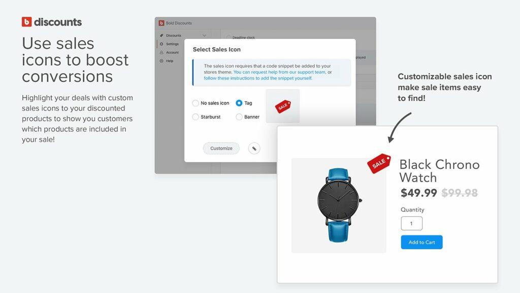 Bold Discounts ‑ The Sale App