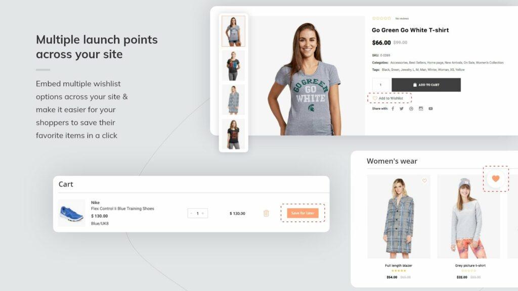 Shopify wishlist app