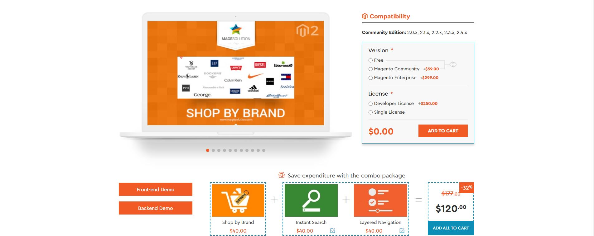 Shop By Brand by Magesolution