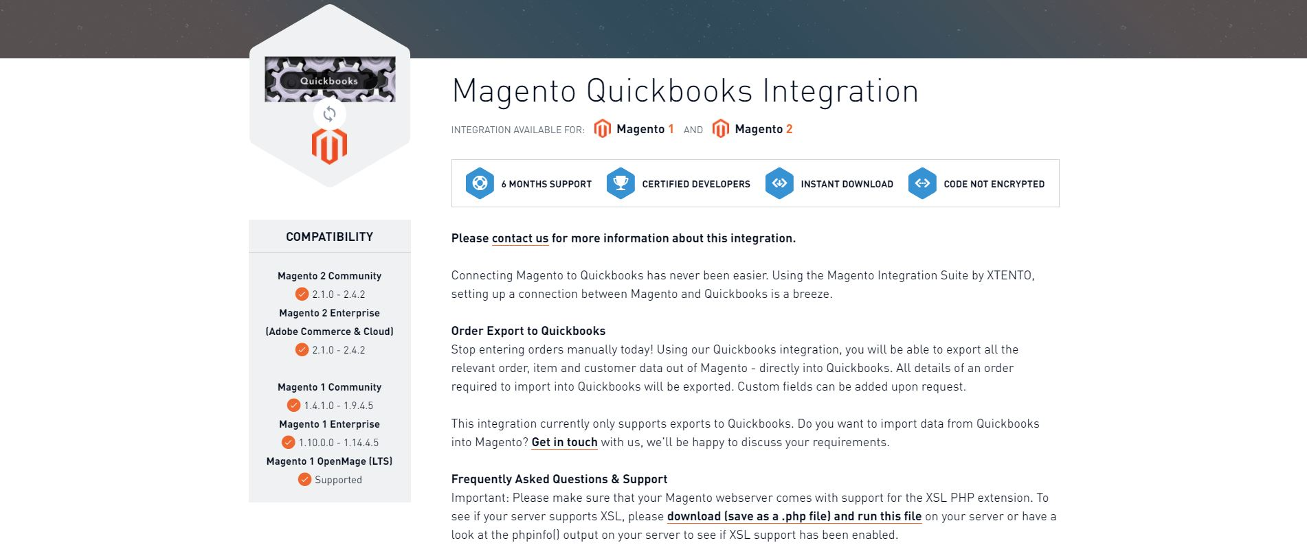 Magento accounting extension