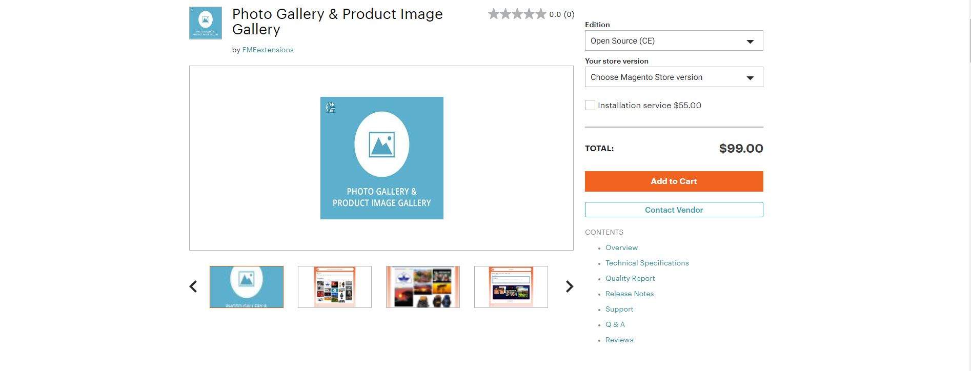 Magento image extension