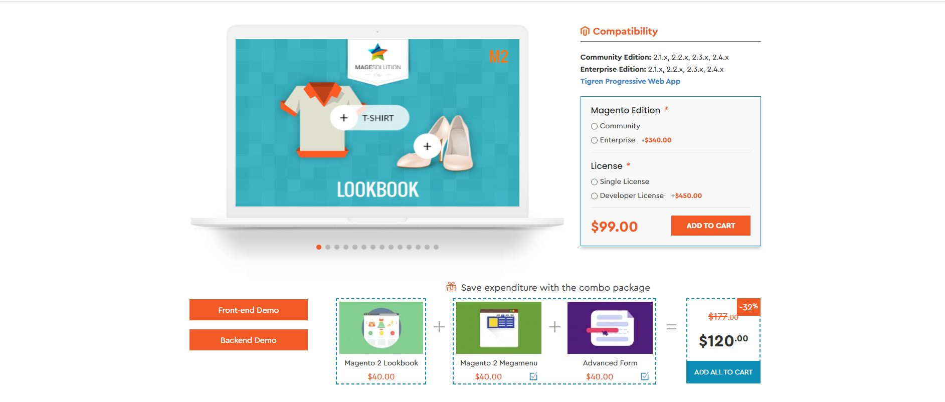 Lookbook Extension by Magesolution