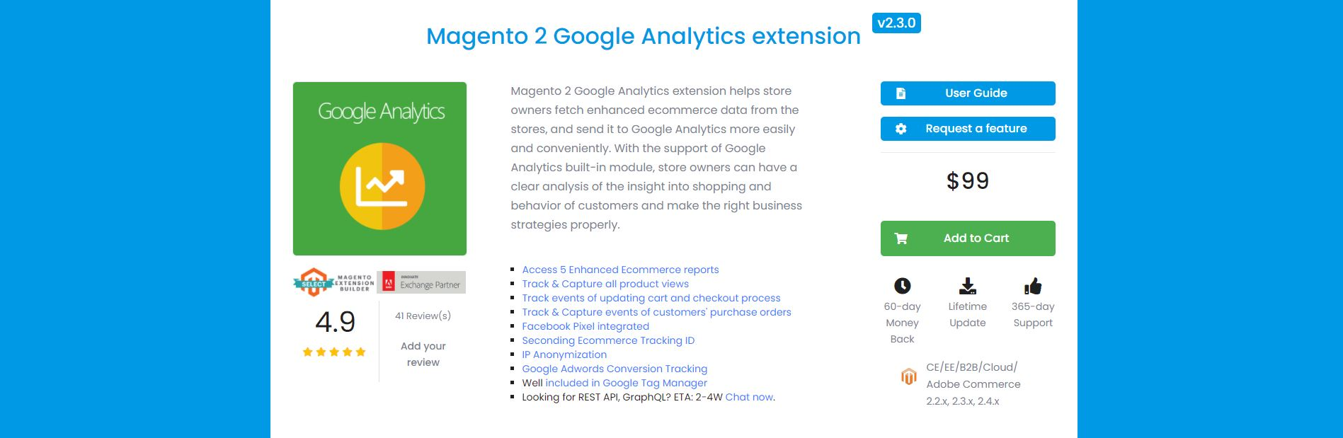 Magento google analytics extension