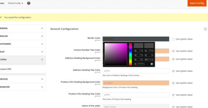 Magento pdf invoice extension