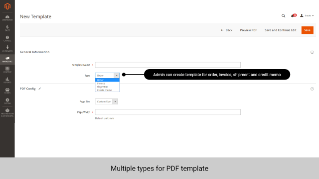 PDF Invoice by Magenest