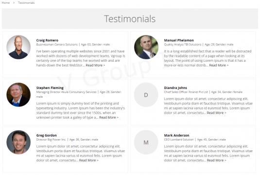 worth using Magento testimonials extension