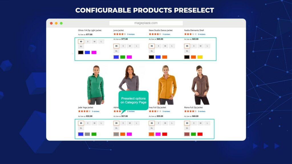 Magento configurable product extension