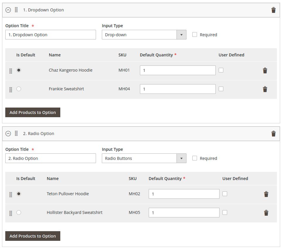 Magento 2 Configurable Bundle by Wizkunde