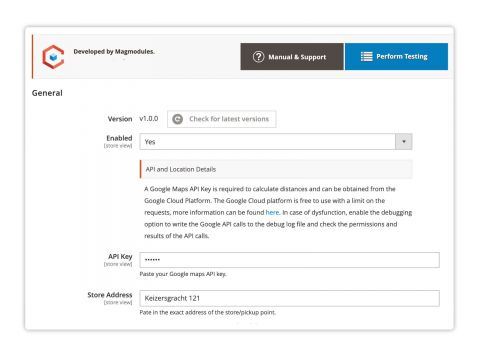 Magento Distance-Based Shipping extension by Magmodules
