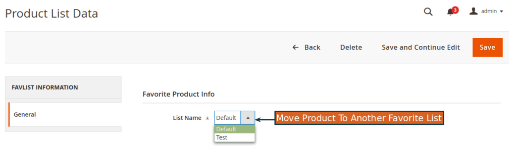 Magento wishlist extension by Mageants
