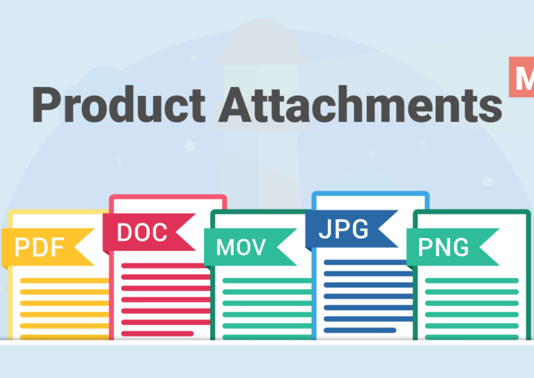 Magento product attachments extension
