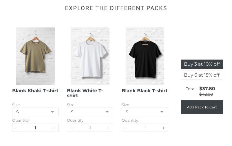 Shopify bundles