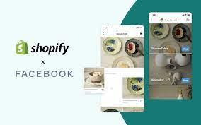 Shopify connects with Facebook