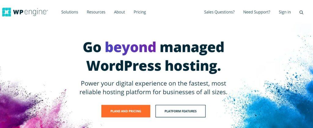 WP Engine - Ecommerce web hosting