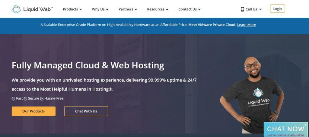 Liquid Web - Ecommerce web hosting