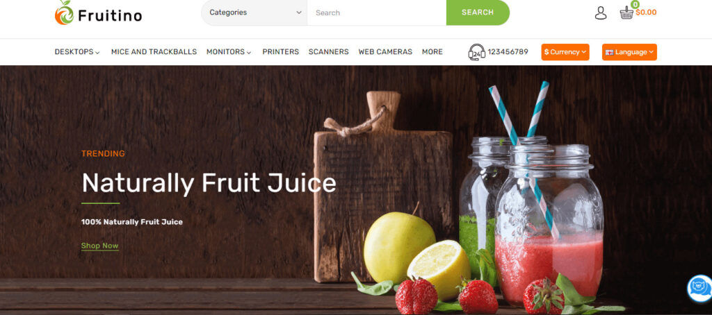 Food & Grocery online Store