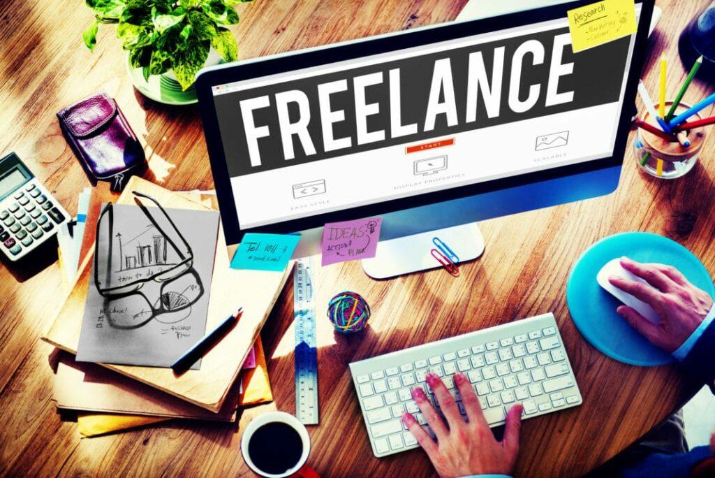 Freelancer At Work