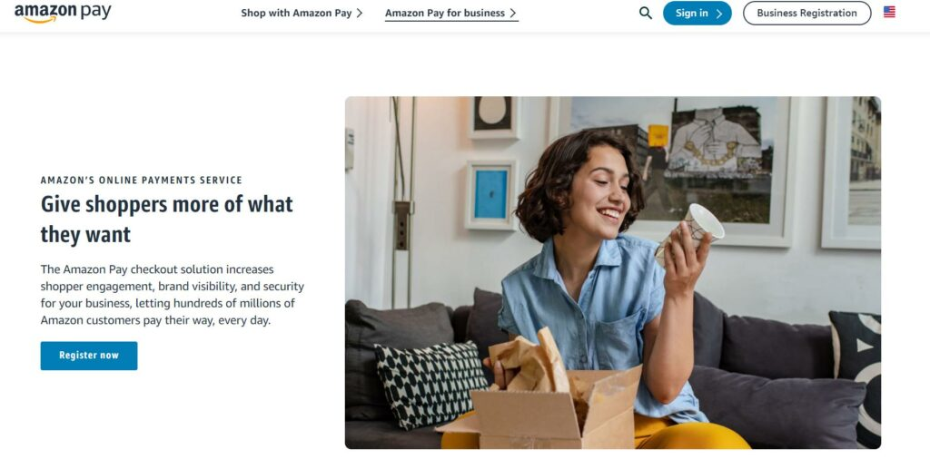 Amazon Pay - Online payment solutions
