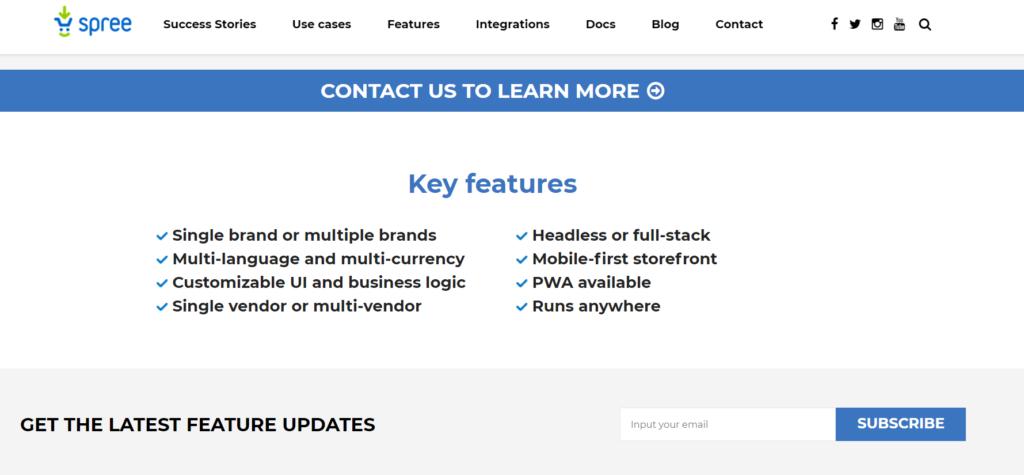 Spree - open source eCommerce