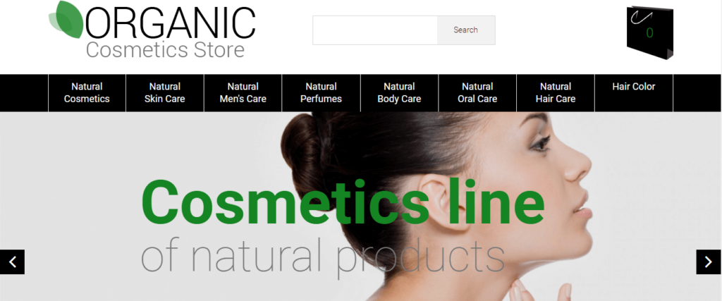 cosmetic Opencart ecommerce themes