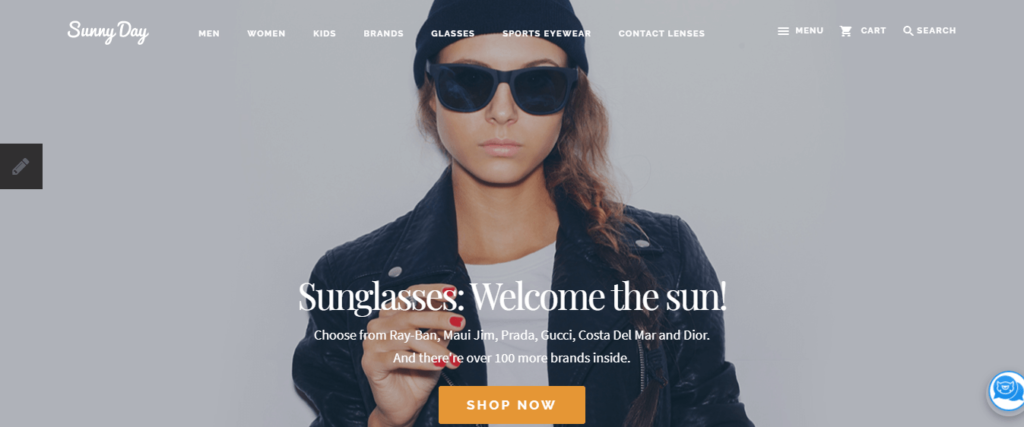 glasses pencart ecommerce themes